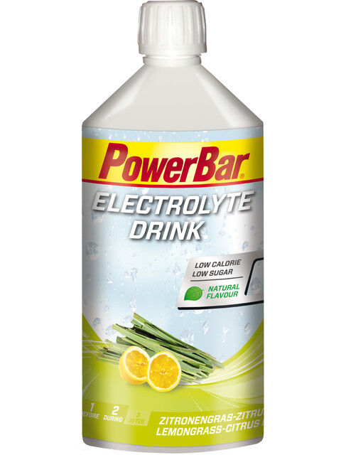 PowerBar Electrolyte Drink Lemongras-Citrus 1l